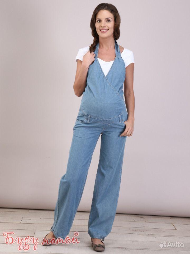 Джинсовый комбинезон для беременных своими руками