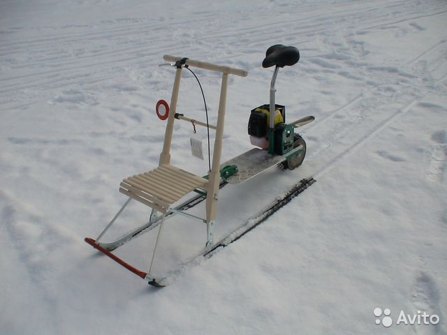 Для рыбалки финские сани