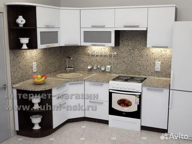 Дизайн кухни 9м2 угловые
