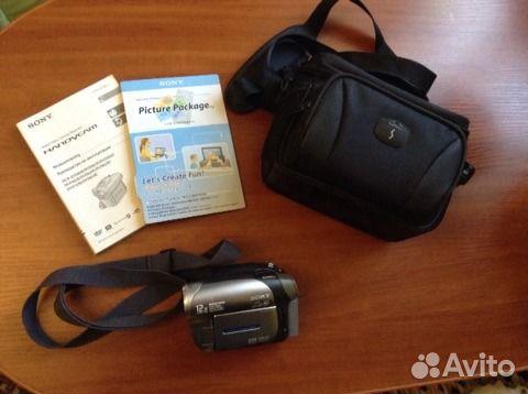 Sony Handycam DCR-DVD203E PAL 89787723228 купить 1