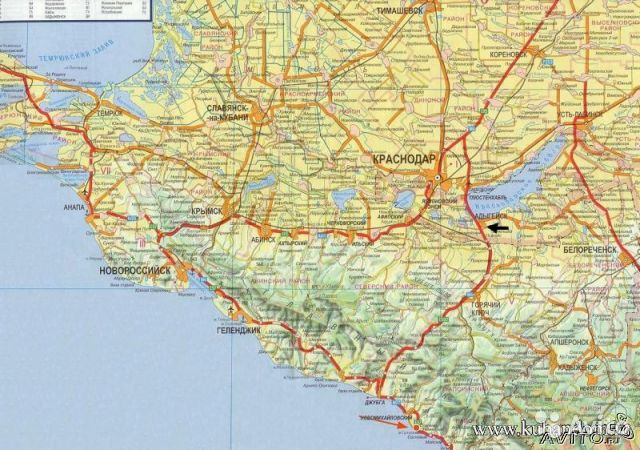 35 км от Анапы, Земельный участок, площадь - 5653 кв.м, Краснодарский край,