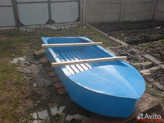Сделал своими руками лодку из железа 27