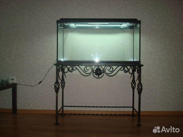 Полочка под аквариум своими руками