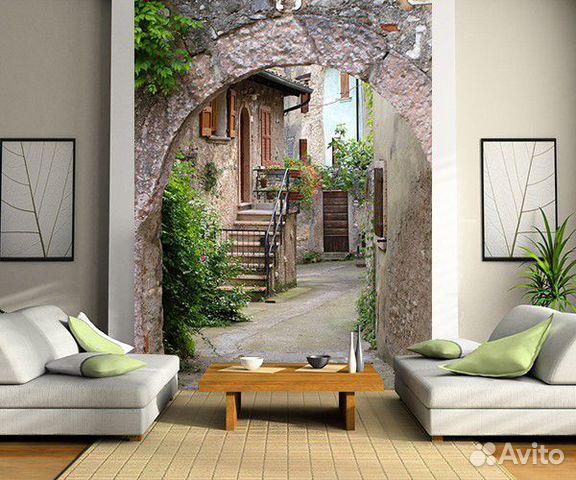 Интерьер итальянский дворик
