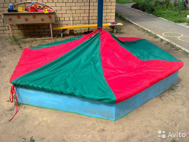 Чехлы на песочницу для детского сада