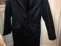 Натуральная кожаная куртка-френч (весна-осень) — Одежда, обувь, аксессуары в Нижнем Новгороде