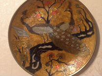 Тарелка из латуни — Мебель и интерьер в Москве