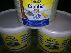 Корм tetra cichid sticks