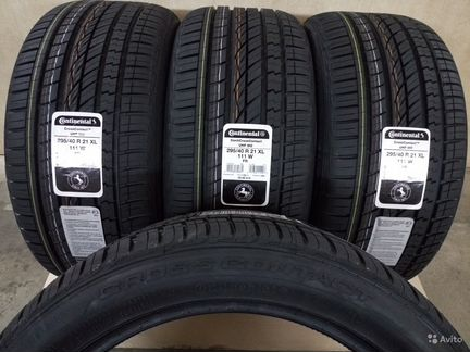 Шины Continental 295/40 R21 CrossContact UHP