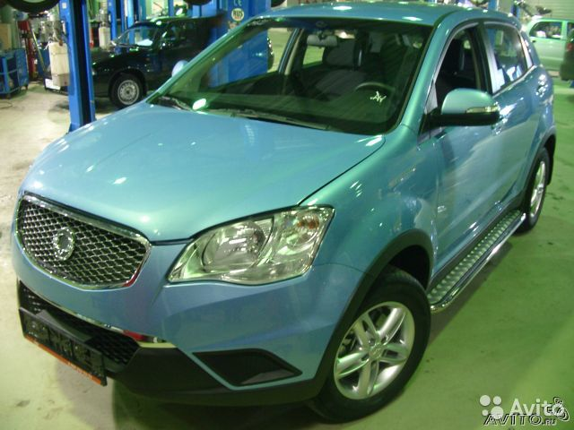 Пороги ssang yong Actyon NEW