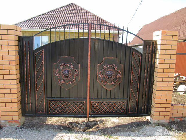 купить сварные ворота в белгороде
