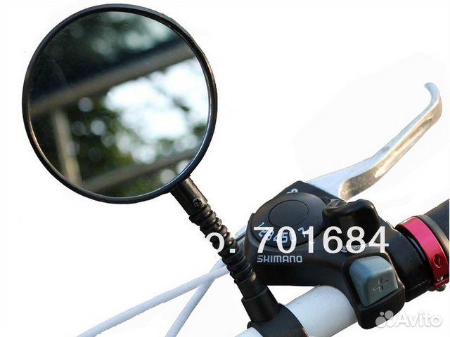 Зеркало заднего вида на велосипед
