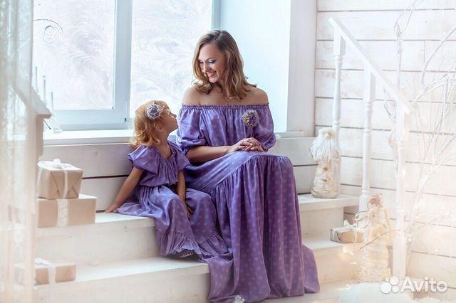 Платье мама дочка на прокат