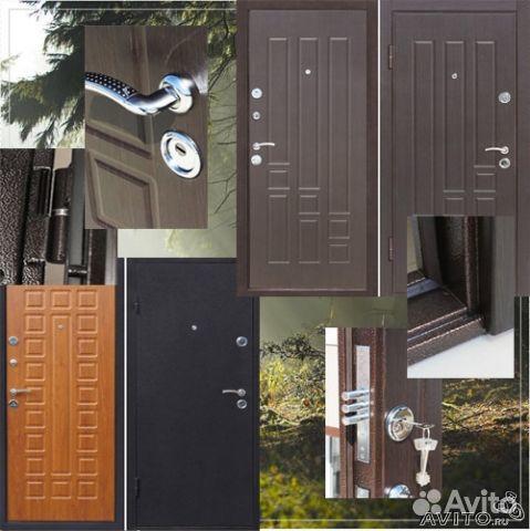 металлические двери на дачу город чехов