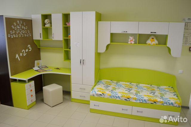выставочный образец детской мебели