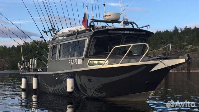 катер для рыбалки финский