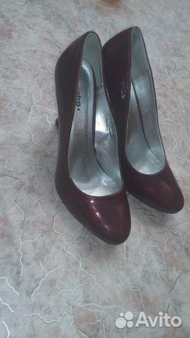 Туфли темного красного цвета. размер 39 89039526052 купить 1