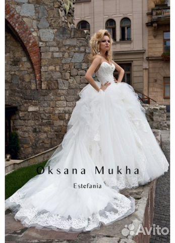 Шикарное свадебное платье Оксана Муха  ca95327feddfb