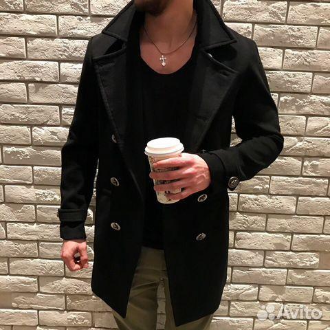 7ec736b3cb60 Шерстяное пальто от дизайнера Philipp Plein весна купить в Москве на ...