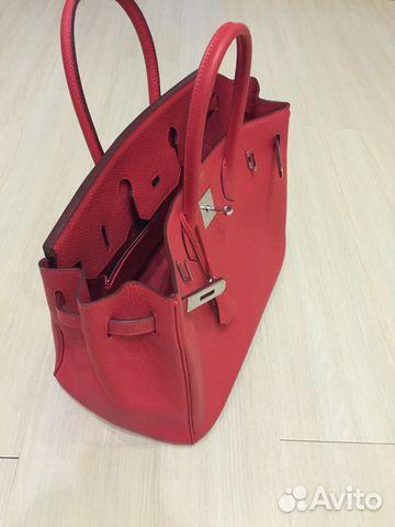 598b206830c9 Красная сумка Hermes | Festima.Ru - Мониторинг объявлений