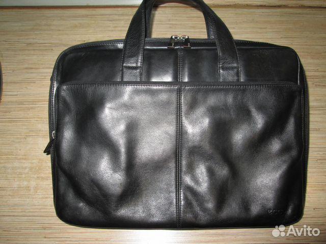 5f546ae8b Кожаная сумка ecco купить в Москве на Avito — Объявления на сайте Авито