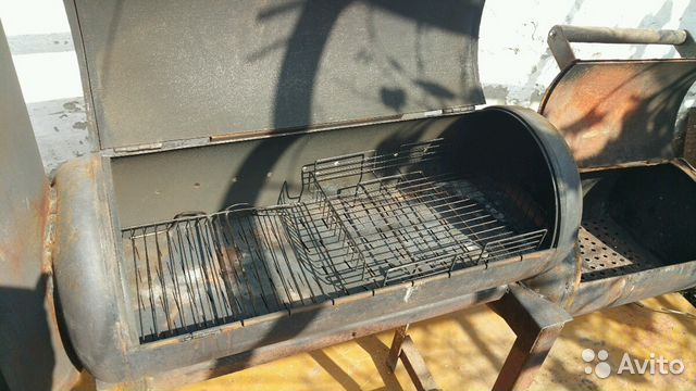 строим барбекю на террасе