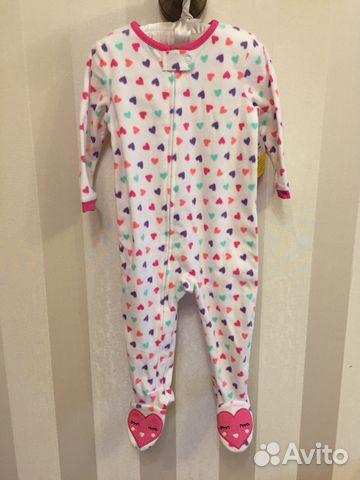Комбинезон пижама next новый флисовый  8450f1f62680c
