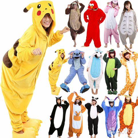Пижамы Кигуруми. Все размеры. В наличии купить в Свердловской ... 4577294f8203d