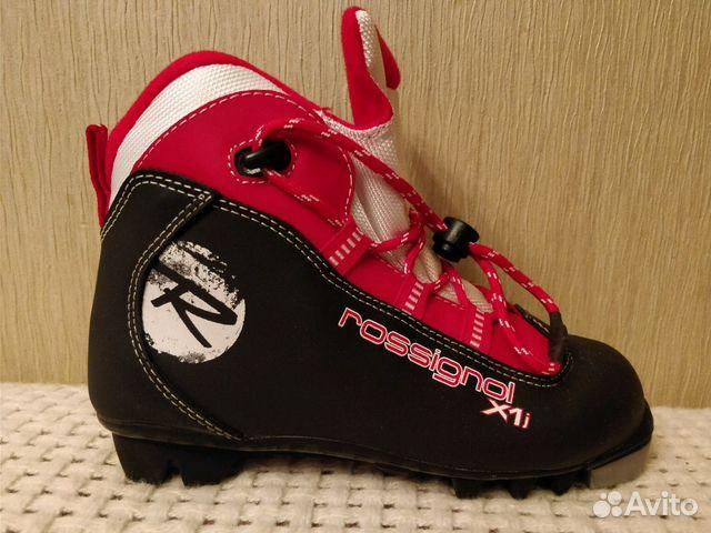 Детские лыжные ботинки Rossignol   Festima.Ru - Мониторинг объявлений dc5839afdea