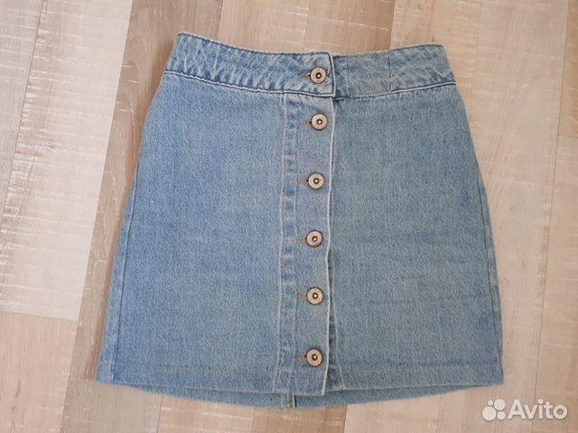 a49c37b7d6a Джинсовая юбка на талию купить в Свердловской области на Avito ...