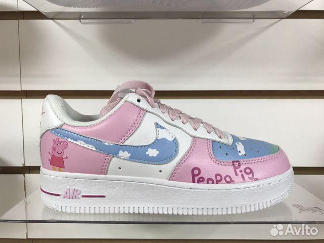 33e9f6e9 Nike Air Force 1 Peppa Pig купить в Самарской области на Avito ...