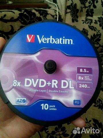 Диски Verbatim 89045734004 купить 1