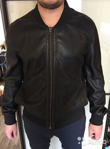 fbd75a34851 Куртка кожаная мужская Zara