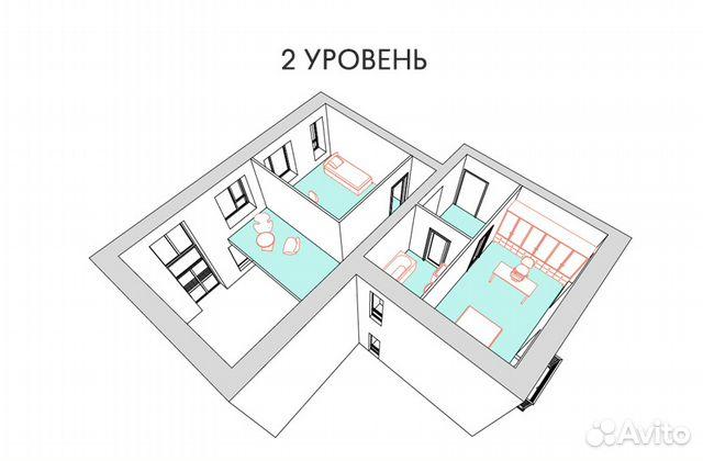 4-к квартира, 144.7 м², 3/3 эт. 89962194213 купить 6