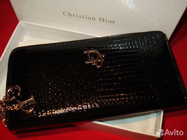 2d10fcc7b572 Кошелек-клатч Сhristian Dior сd Франция нат. кожа купить в Москве на ...