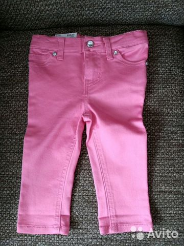 6631864bd Джинсы новые на девочку 1-2 года, брюки купить в Калининградской ...