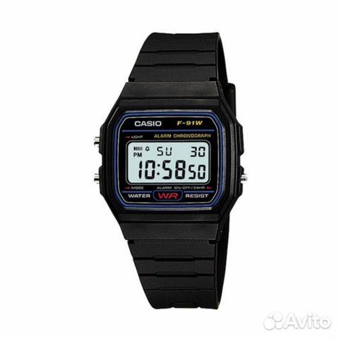 caf9843a Наручные электронные часы Casio F-91W оптом | Festima.Ru ...