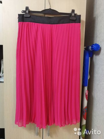 2c93fd11077 Розовая фуксия юбка