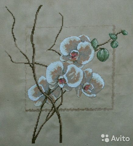 Вышивка крестом Орхидея  89307313187 купить 1