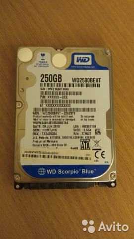 DOWNLOAD DRIVERS: WD2500BEVT 22A23T0