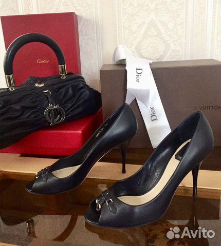 4d9ab26b6 Туфли Christian Dior, редкие, оригинал купить в Москве на Avito ...