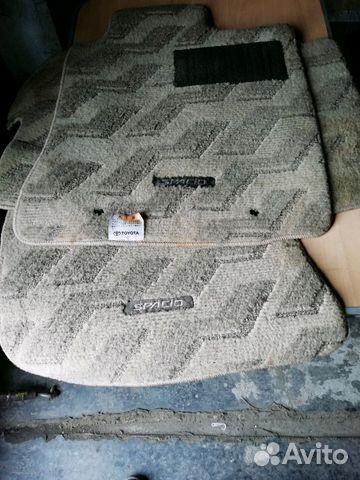 Автомобильные коврики тойота спасио 2003г купить 2