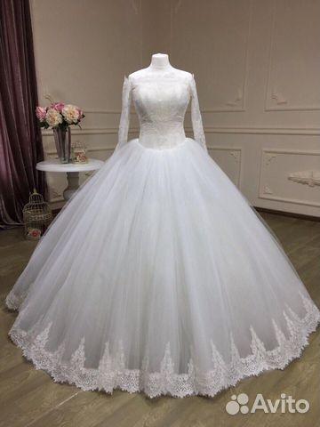 6ea00009861 Свадебное платье пышное прокат А2081