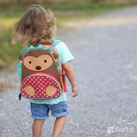 Skip Hop рюкзак детский ежик 3-7 лет новый 89273756045 купить 1