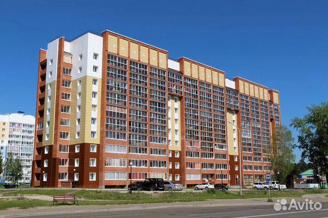 1-к квартира, 43 м², 4/10 эт.