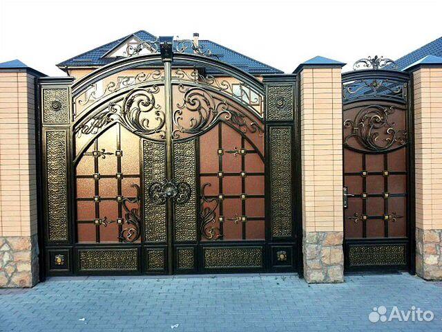 фото самые красивые ворота для дома чечни шкаф-купе гардеробную