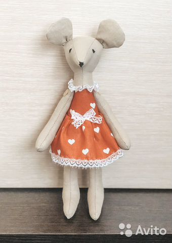 Кукла тильда мышка  89064096764 купить 2