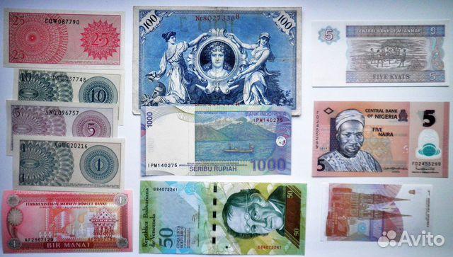 Иностранные монеты и банкноты 89176361160 купить 10