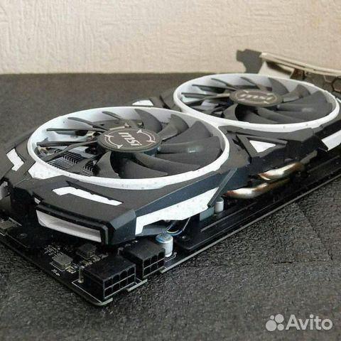 Видеокарта MSI GeForce GTX 1080 Armor 8Gb  89226528605 купить 3