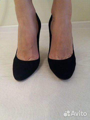 Туфли новые натуральная замша 89027802361 купить 4